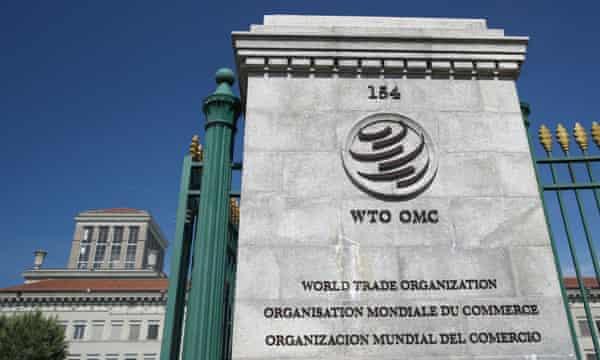 World Trade Organization HQ in Geneva.