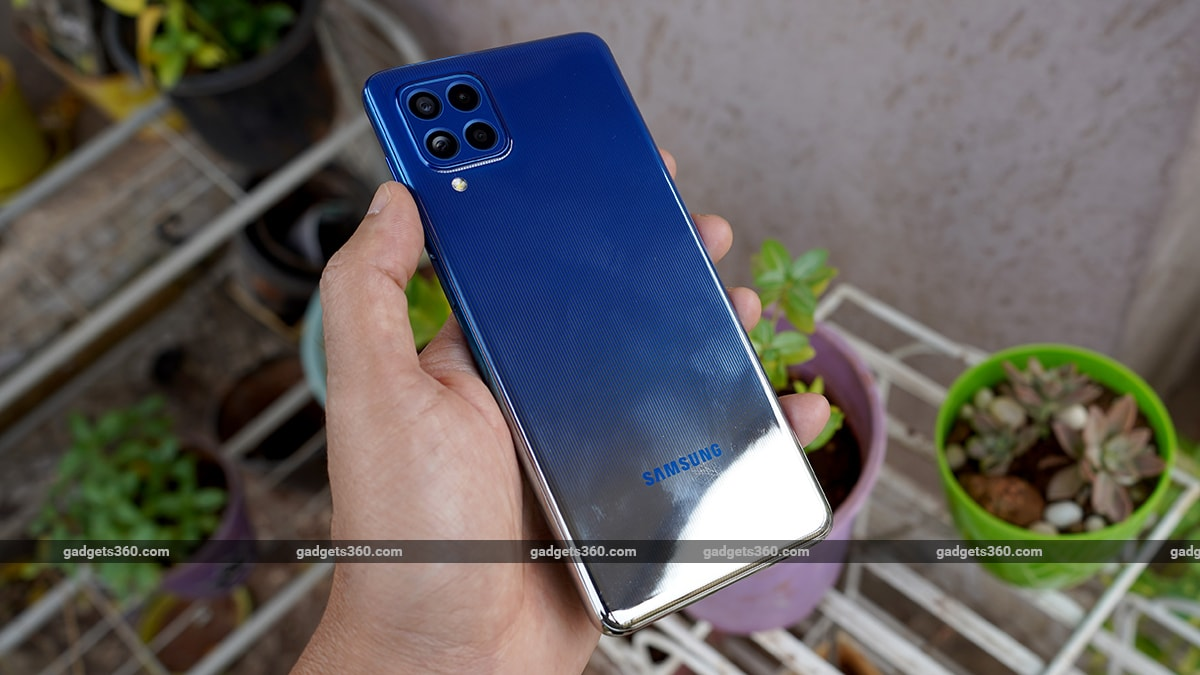 samsung galaxy f62 first impressions back www