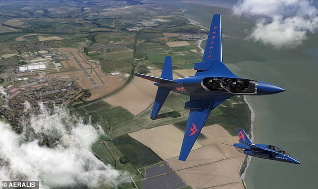 Suffolk-based Aeralis was given £200,000 by the RAF to develop its 'modular' two -seater aircraft that will come in one of three variants depending on requirements
