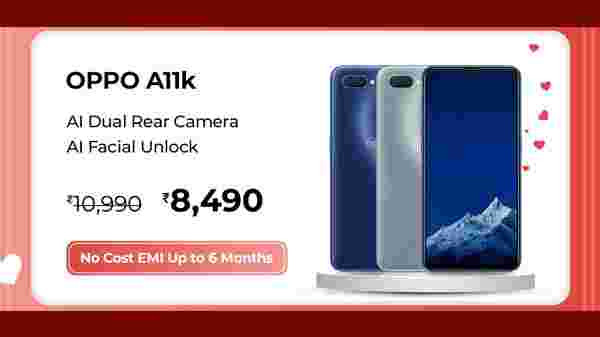 18% Off On OPPO A11K