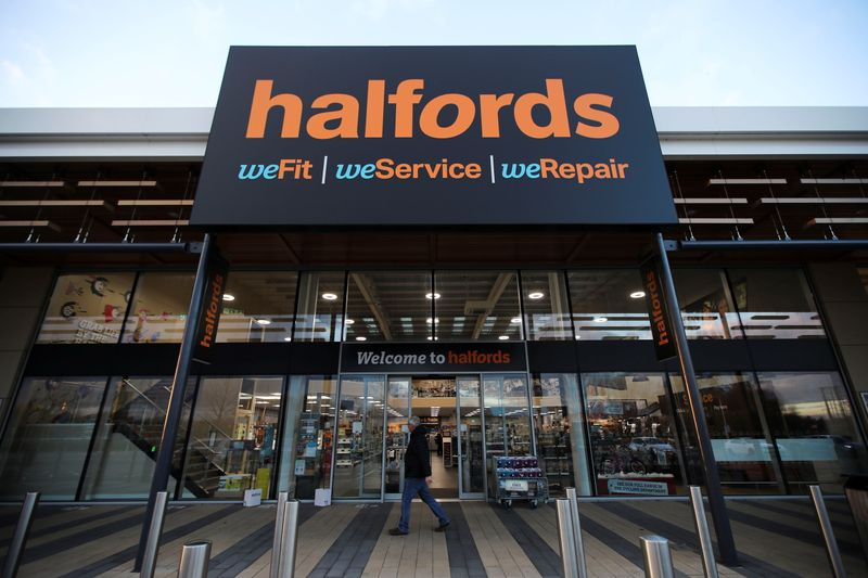 Bicycle retailer Halfords expects higher annual profit, plans to repay government support