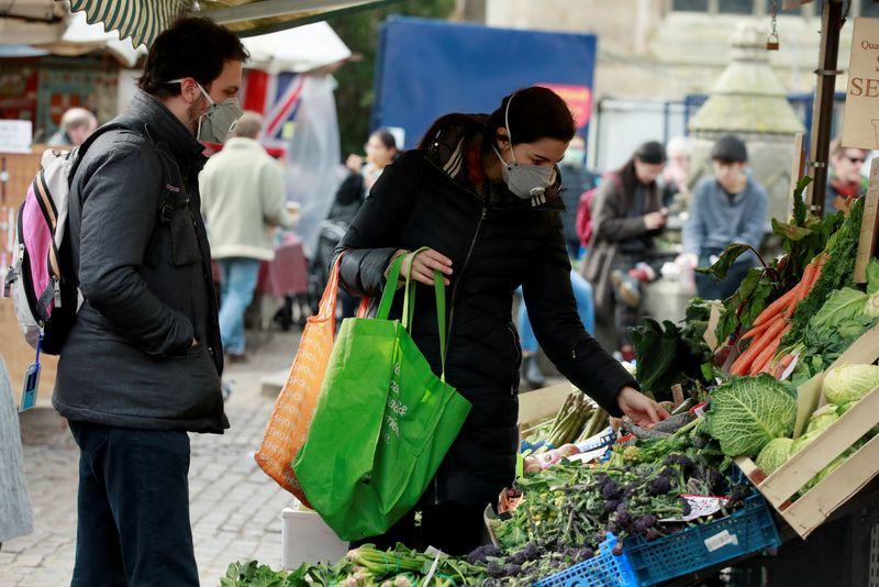 British grocery sales soar 15% on lockdown boost