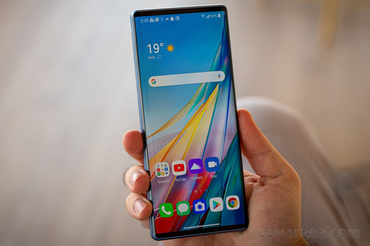 LG's 'Rainbow' phone reportedly on hold
