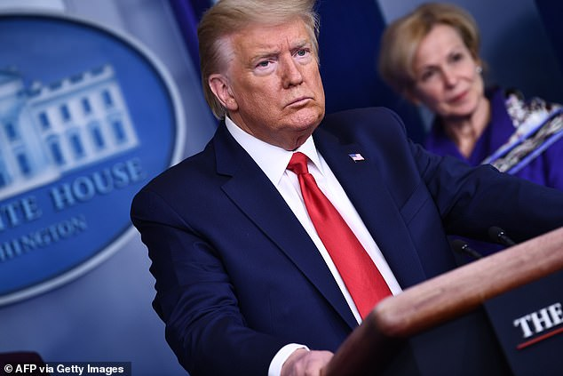 President Donald Trump defended his use of the term 'China virus' to describe the coronavirus, saying 'it's not racist at all'. But in the week after Trump posted the tweet, the number of coronavirus-related tweets with anti-Asian hashtags rose precipitously, a study has found