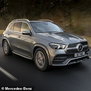 The Mercedes-Benz B-Class plug-in hybrid, meanwhile, was found to be 67 per cent less efficient than advertised — the same as the Mercedes-Benz GLE (pictured)