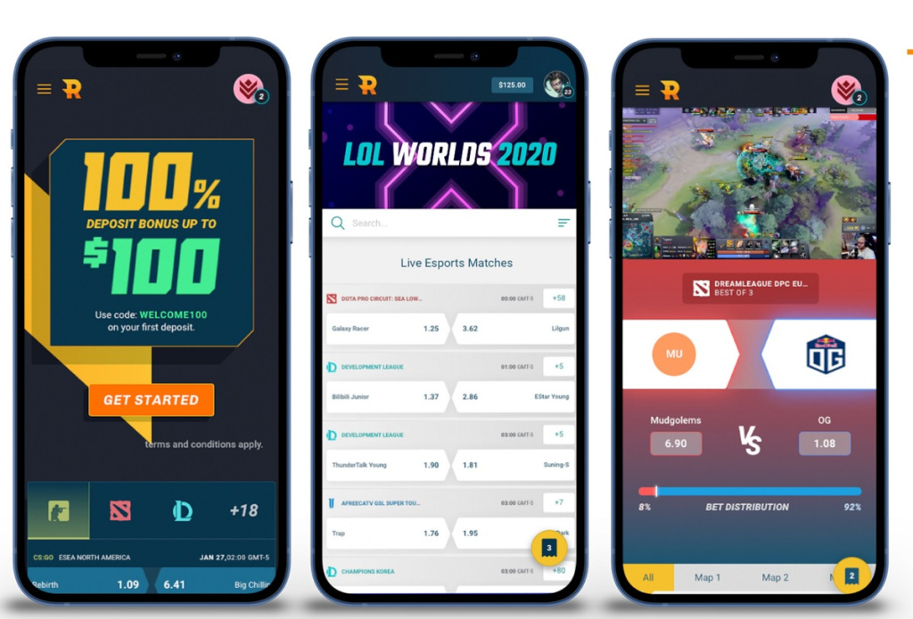 Rivalry targets younger esports and sports fans on mobile devices.