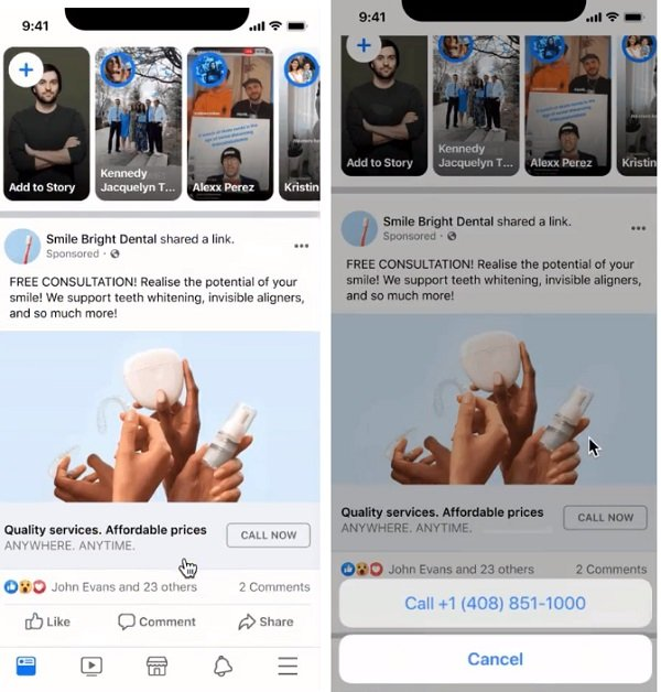 Facebook Call Ads