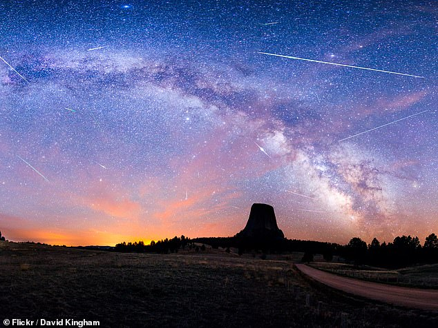 The show will reach its peak on Thursday May 6 but meteors will be clearly visible in the days before and after the peak, and in drabs to the end of the month