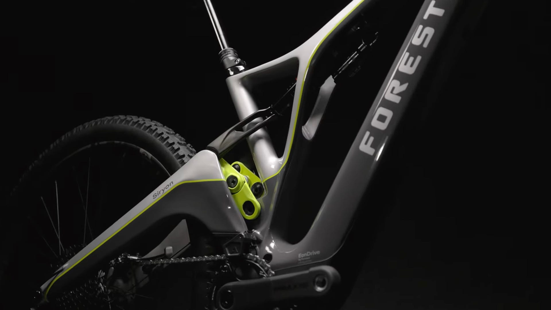 Forestal twin-lever carbon frame