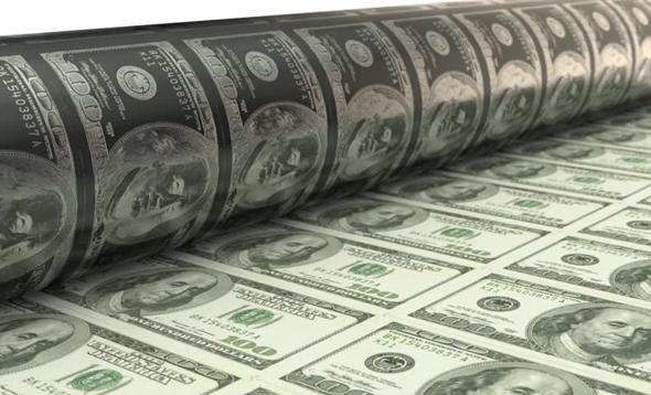 Printing dollars. Photo: Shutterstock