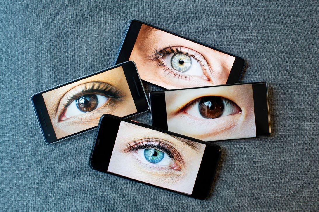 smartphone surveillance graphic