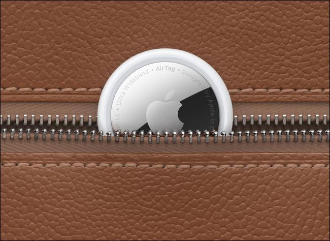Apple AirTag in Bag