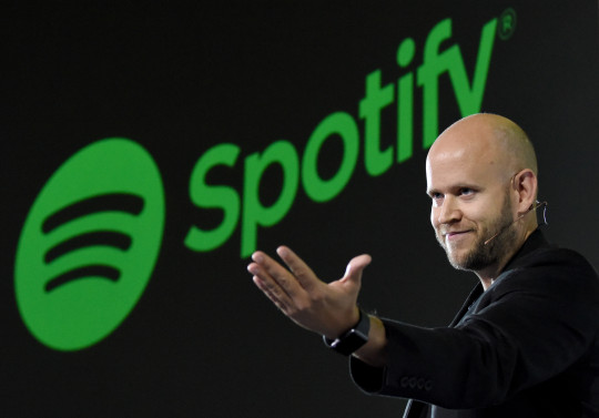 Daniel Ek, CEO of Swedish music streaming service Spotify (Getty)