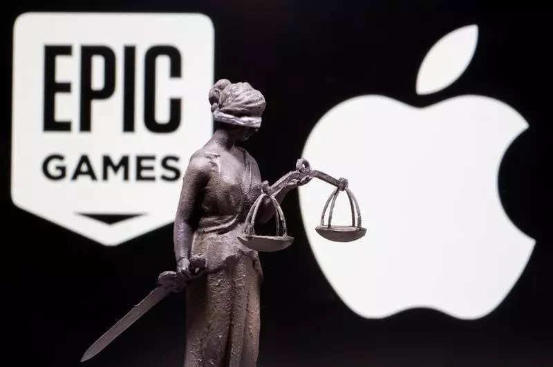 Apple Epic battle