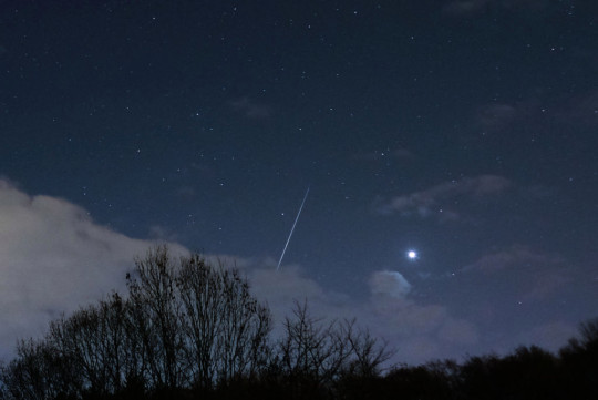 It'll be cold out, so make sure you wrap up warm if you're going meteor spotting (Getty)