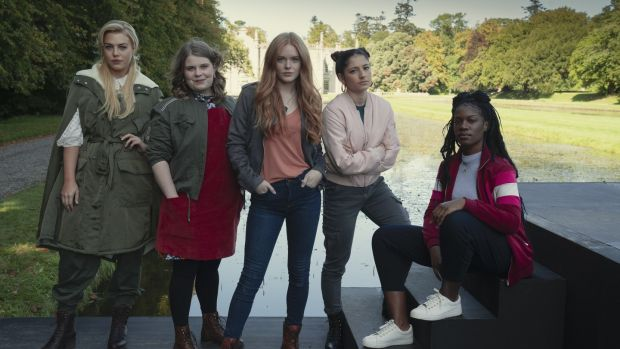 Netflix teen fantasy Fate: The Winx Saga is in pre-production for its second season at Ardmore Studios and nearby Kilruddery House. Photograph: Jonathan Hession/Netflix