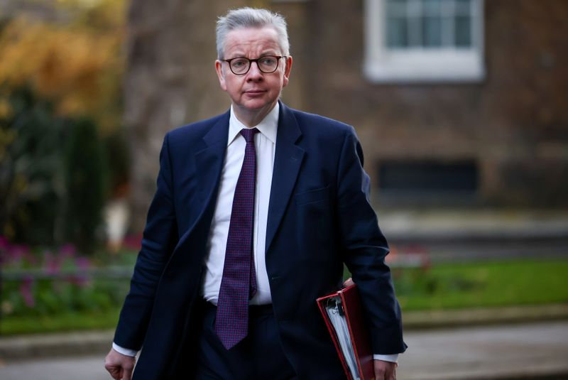 UK's Gove refuses to say how London will handle Scottish independence drive