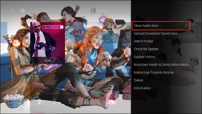 Close App on PS4