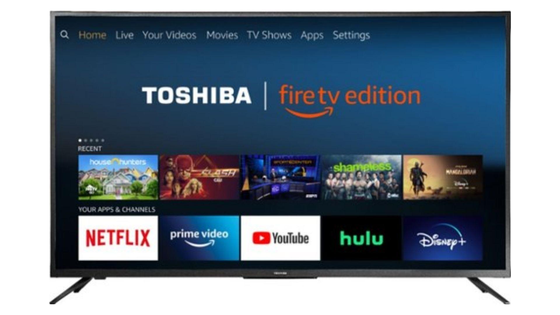 Toshiba 55 Class LED 4K UHD Smart Fire TV Edition TV