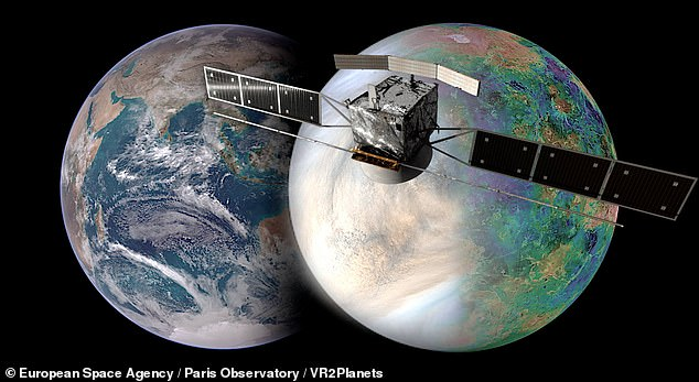 EnVision can orbit Venus in 92 minutes at an altitude between 220 km and 540 km