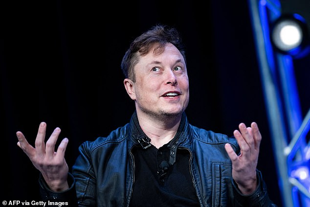 'I think he's cool and I think he's got big ideas that are actually working,' Coyne said about Elon Musk (pictured). 'We've always said that we want to be the first band to play on the International Space Station, and I feel like to even say that on your show, he might be listening'