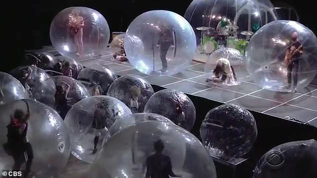 The Flaming Lips held a show during the coronavirus pandemic in January 2021 while inside plastic bubbles. However, what was even more spectacular was that each audience member received their own bubble upon entry.