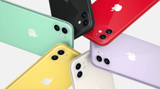 The iPhone 11 comes in a range of new colours (Apple)