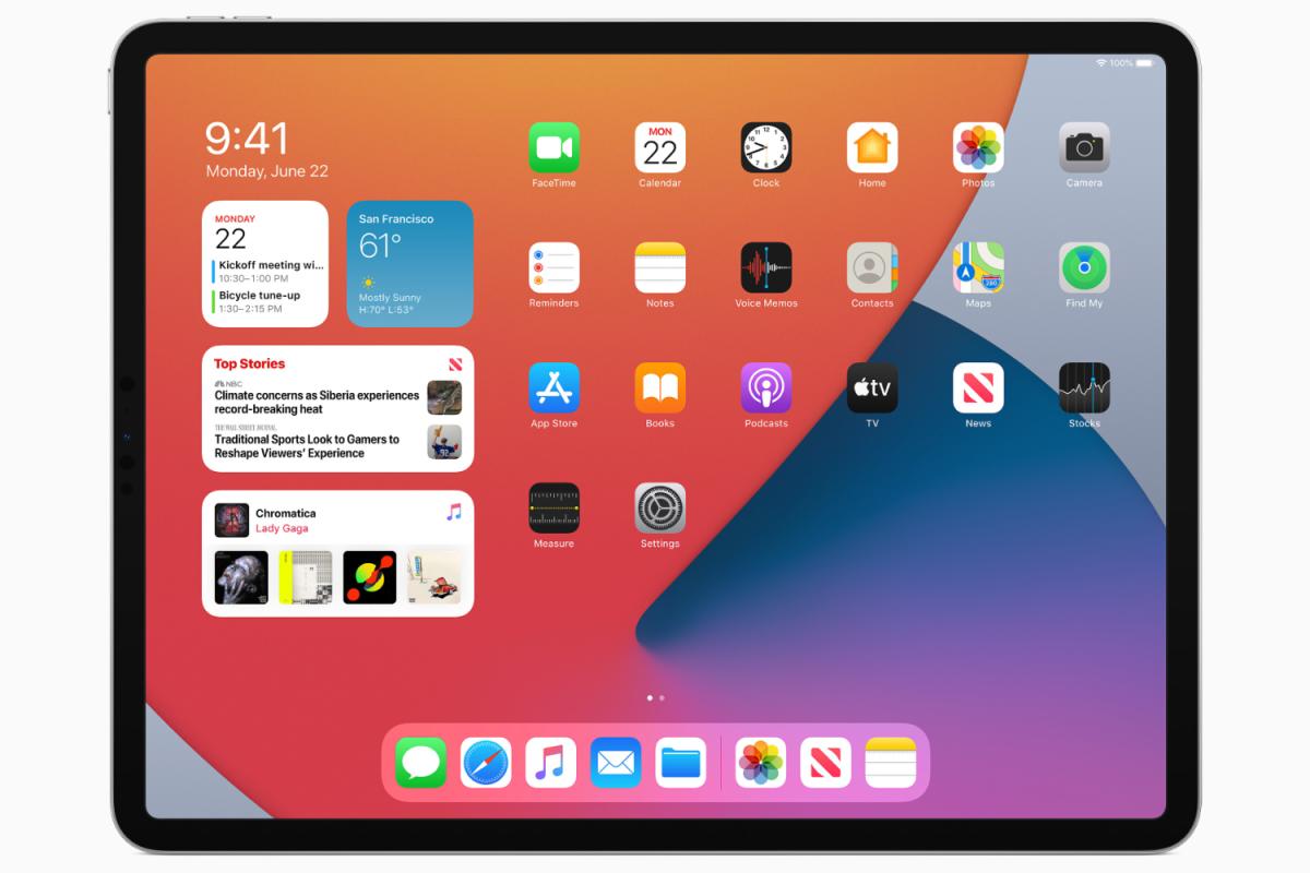 iPadOS 14 2020