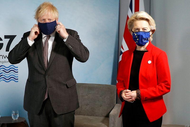 No movement: UK, EU show little sign of defusing post-Brexit row