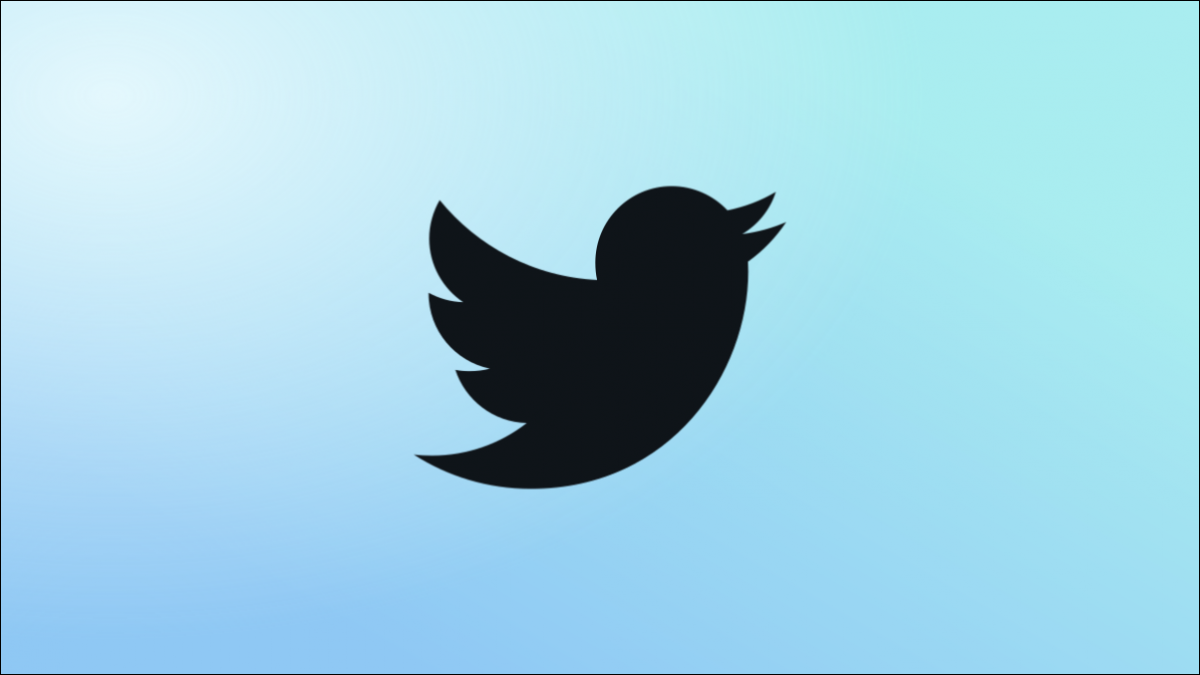 Twitter Blue logo.