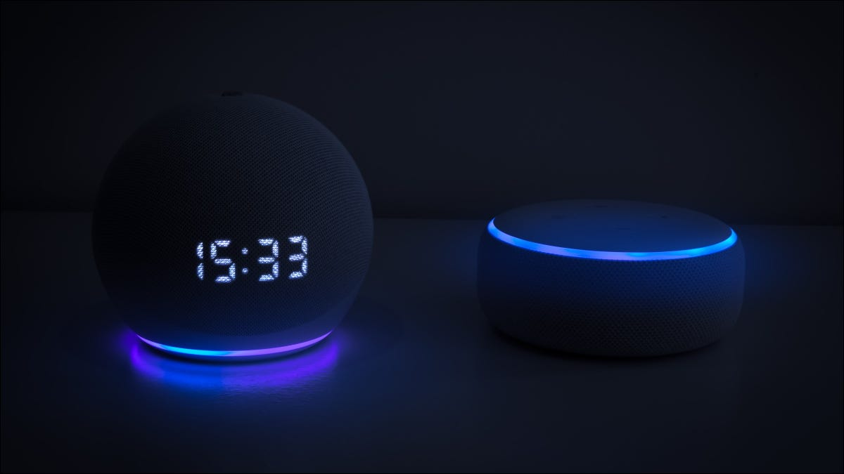 Amazon Echo Dot devices (third and fourth generation.)