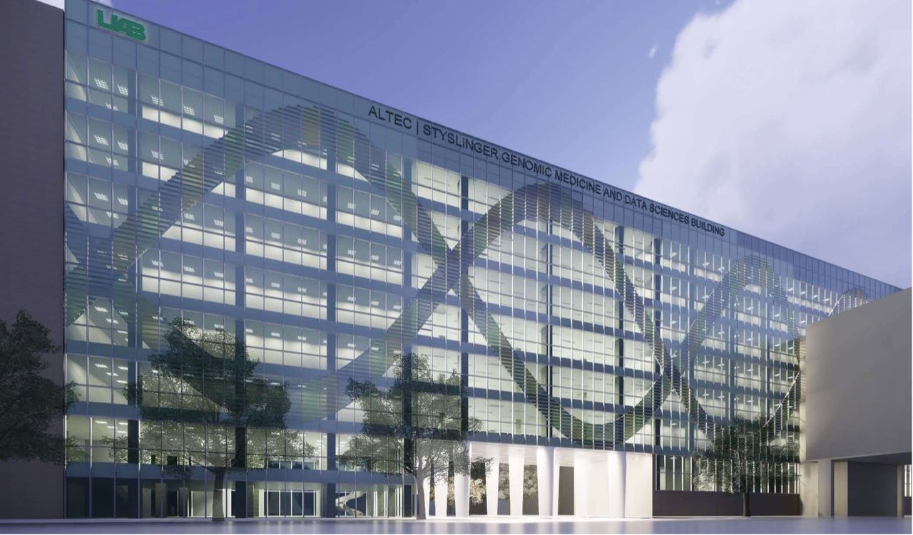 Altec Styslinger Genomic Medicine and Data Sciences Building