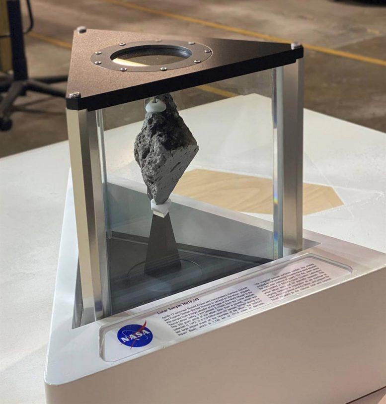 Apollo 17 Lunar Sample