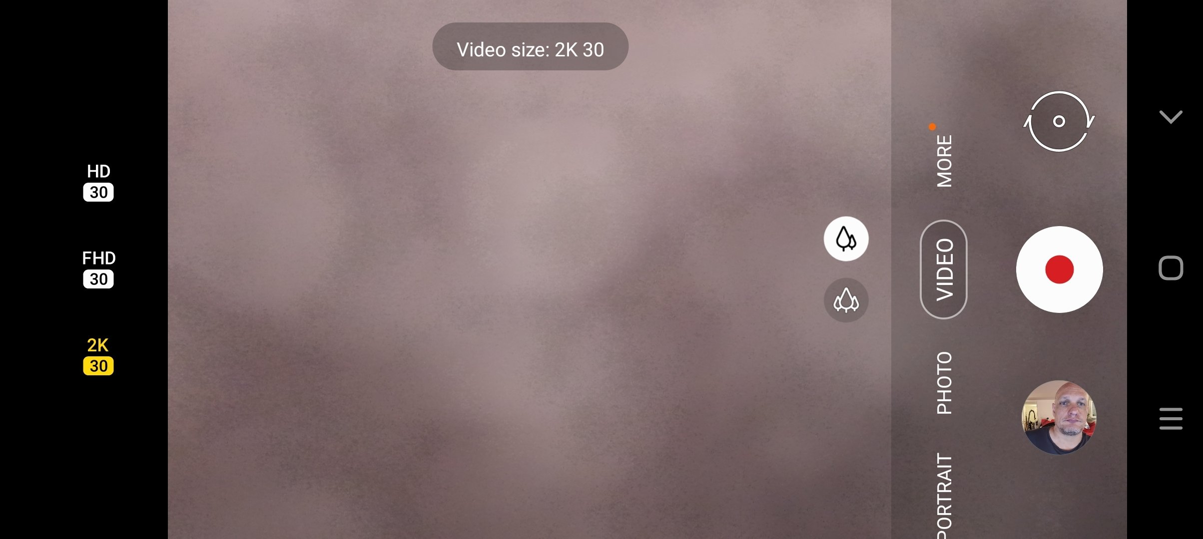 Samsung Galaxy A22 5G Video Recording Resolution