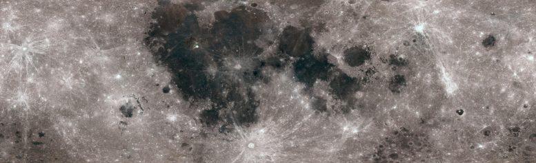 Lunar Surface in Color