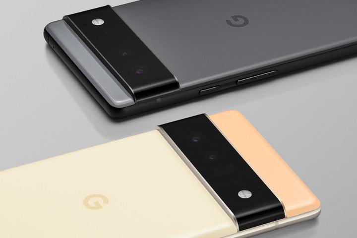 Google Pixel 6 camera module.