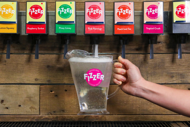 In what Moon Dog Brewing says is a world first, the craft brewer is launching a patent pending post-mix machine solution for on-premises venues to dispense alcoholic seltzers.