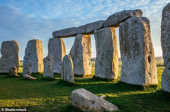Stonehenge (pictured) is one of the most prominent prehistoric monuments in Britain