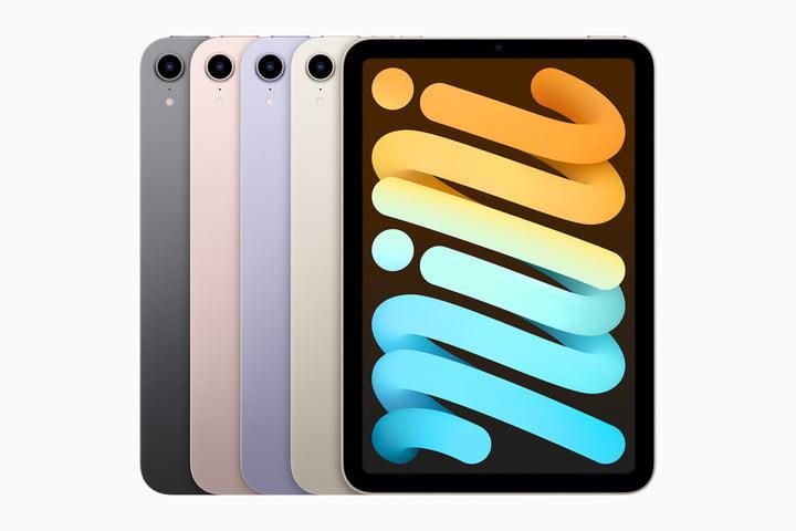 Apple iPad Mini 2021 colors.