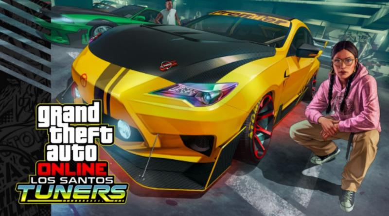 GTA Online's Los Santos Tuners update.