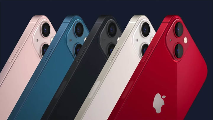New iPhone 13 Colors: Pink, Blue, Midnight, Starlight, & Product RED.