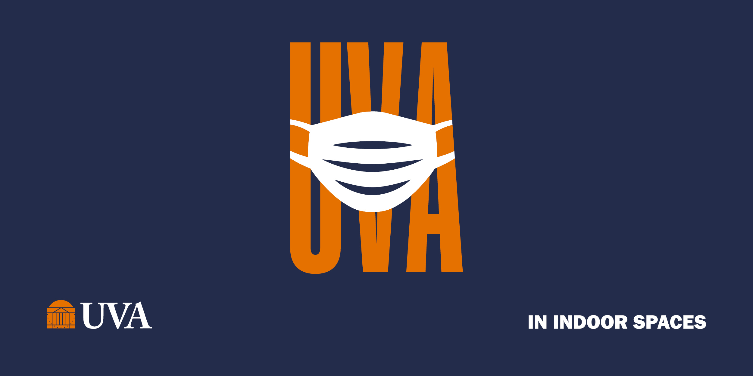 UVA. Mask in indoor spaces.
