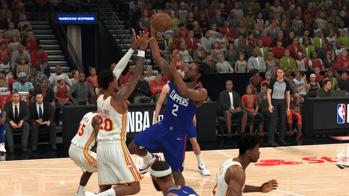 Kawhi Leonard in NBA 2K22.
