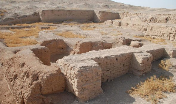 Syria: The ancient city is in Syria near the Turkish and Iraqi borders