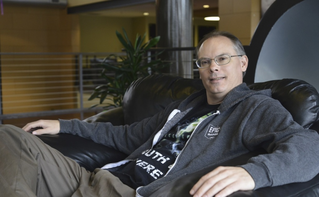 Tim Sweeney is the outspoken CEO of Epic Games.