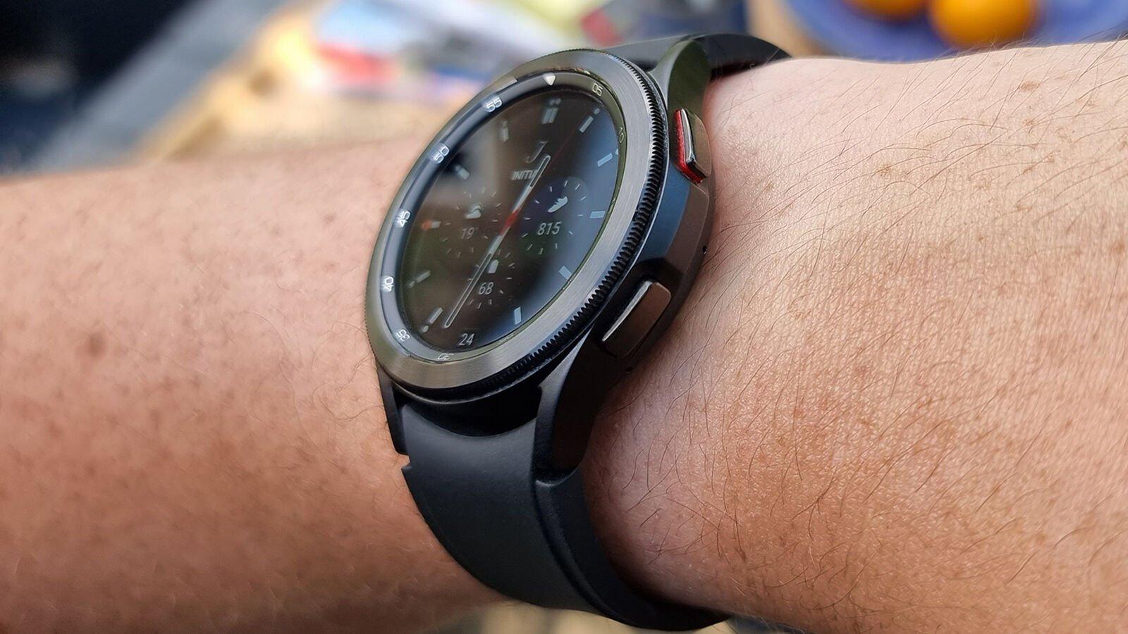 Samsung Galaxy Watch 4 Classic buttons