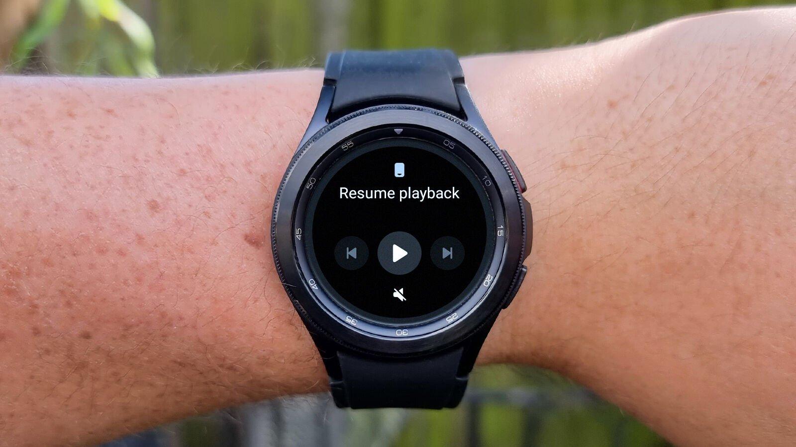 Samsung Galaxy Watch 4 Classic audio