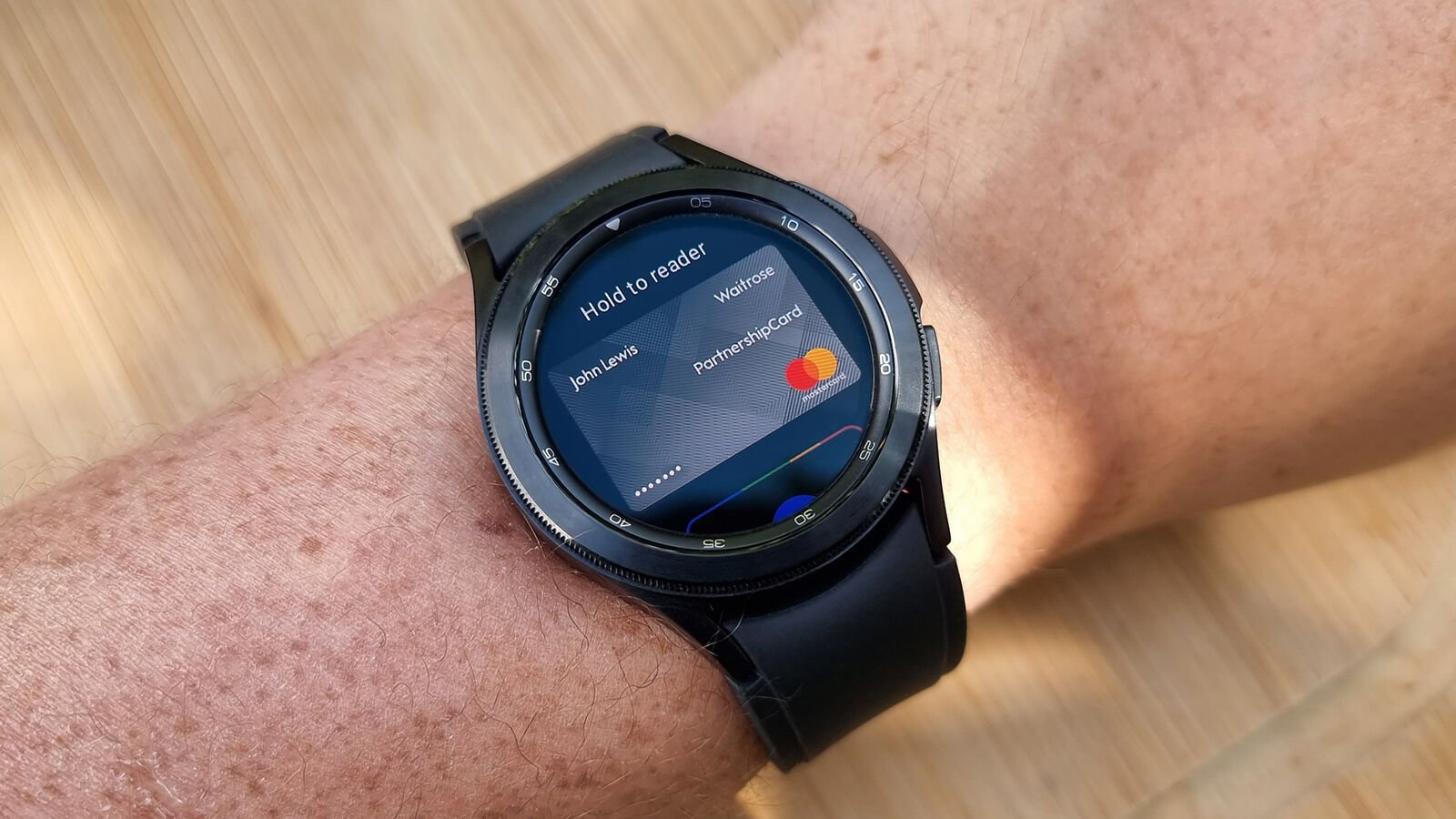 Samsung Galaxy Watch 4 Classic Google Pay