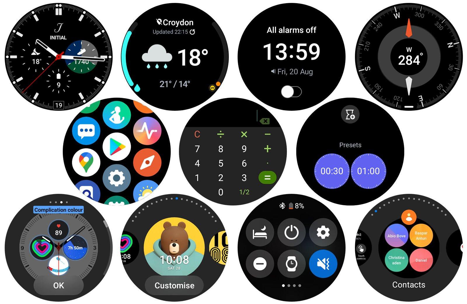 Samsung Galaxy Watch 4 Classic Wear OS powered by Samsung