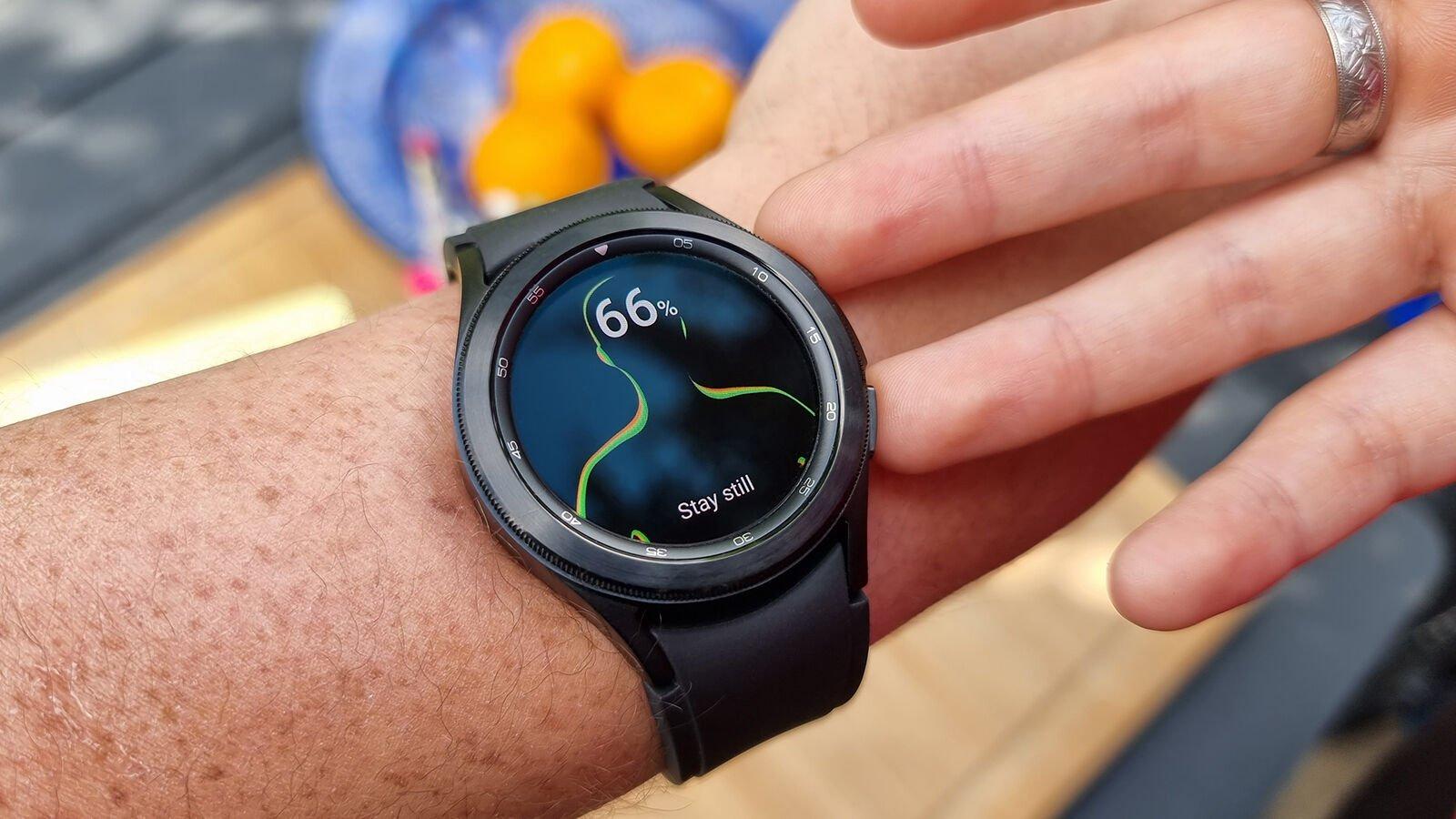 Samsung Galaxy Watch 4 Classic Body Composition Analysis